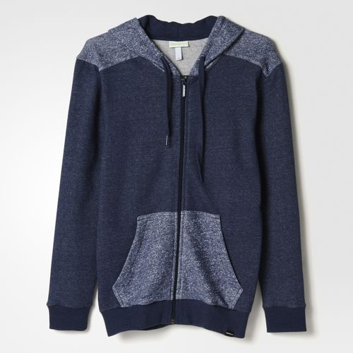 Edgy Adidas Hoodie Blue Fabric Block Clothing Adidas