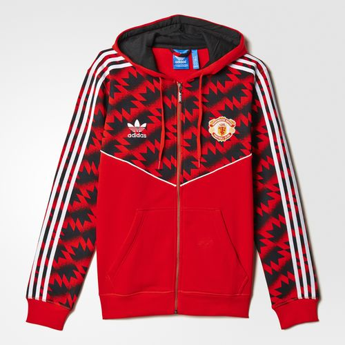 Exciting Adidas Red Hoodie United Fc Clothing Adidas Particular