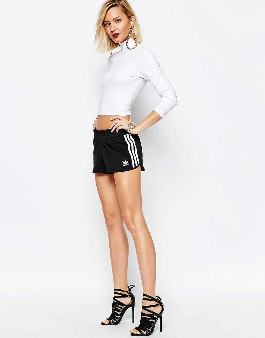 Stylish Adidas Originals Shorts Adicolour Mini Athletic 3 Stripe Purchase